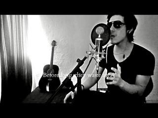 Lessdmv - Dear god (Avenged Sevenfold vocal cover) with lyrics