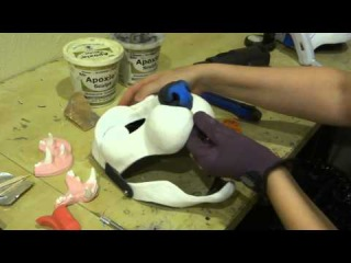 Part 2- Adding a nose and jawset to a cut and hinged blank