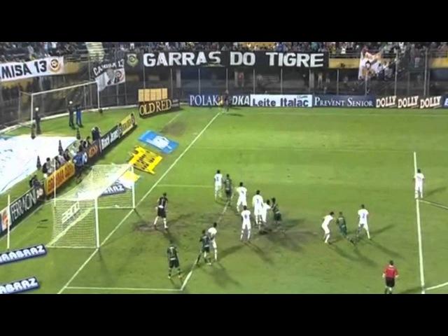 Golaço de bicicleta de Vitor Hugo São Bernado 0 x 1 Palmeiras ~ Paulistão 2015
