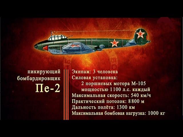 Д/ф «Оружие Победы» - Пикирующий бомбардировщик Пе-2