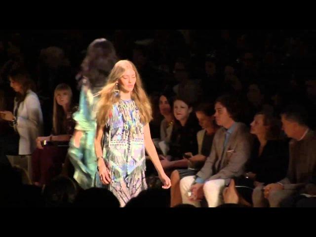 ETRO Woman Spring Summer 15 Fashion Show