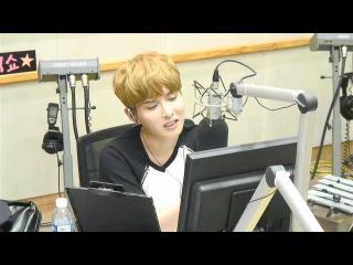 [video][cut] 150709 Sukira Kiss The Radio; Vixx Manager/Super Junior Manager