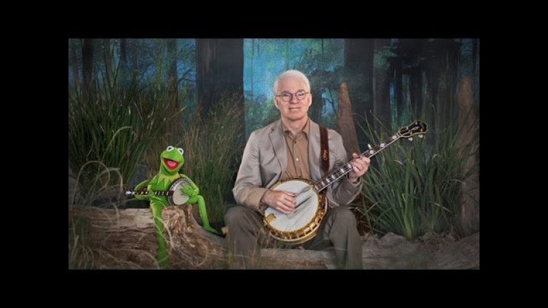 Steve Martin and Kermit the Frog in Dueling Banjos