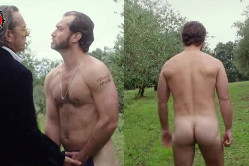 Jude Law Fully Naked Shows Penis And Ass In Wilde