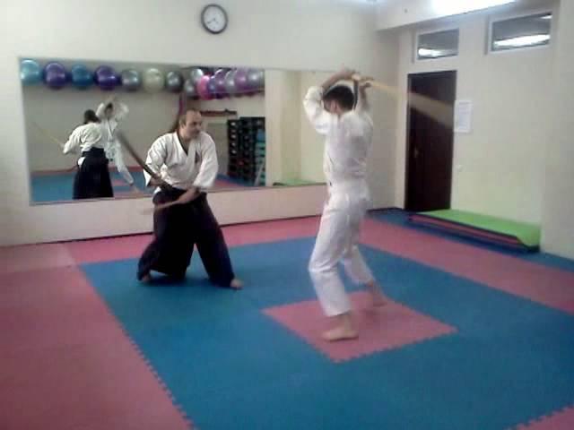 Фехтование двумя мечами 03 Клуб Канкиро Одесса