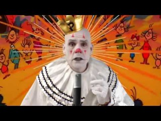 Christmas Time Is Here by Puddles Pity Party sad clown style