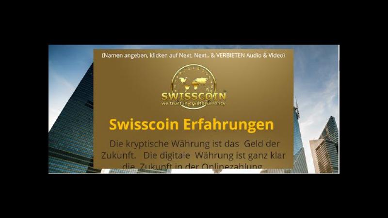 SWISSCOIN Präsentation auf Deutsch 100 Münze kostenlos