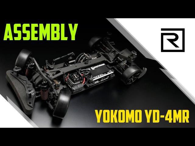 Assembly of Yokomo YD 4MR Сборка автомодели для дрифта Yokomo YD 4MR