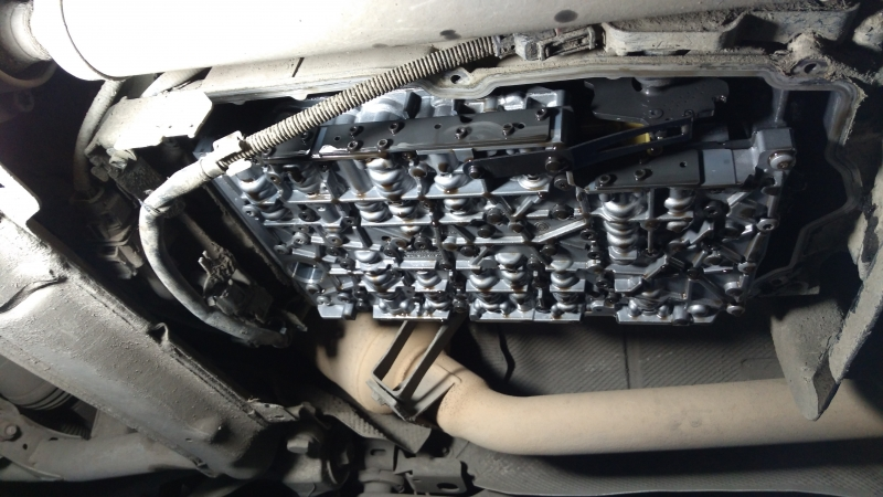 Проект: Попадос(часть 5) меняем масло в АКПП Мерседес R350
