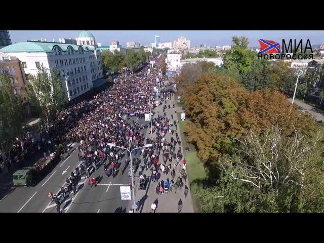 Похоронную процессию Арсена Павлова Моторолы сняли с воздуха