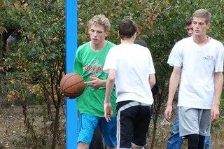 Открытие четвёртой из серии новых площадок для баскетбола 3х3