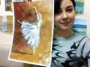 Рисуй! Онлайн урок Рисуем Гуашью Балерину! МК Дарьи Кра