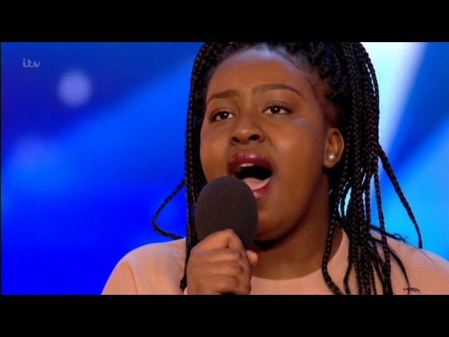 Sarah Ikumu sings And I Am Telling You BRITAINS GOT TALENT 2017 HD [YOLO] [SkippyTv]