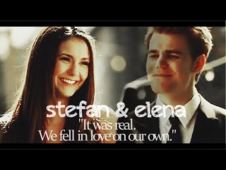 Stefan & Elena | It was real. We fell in love on our own...