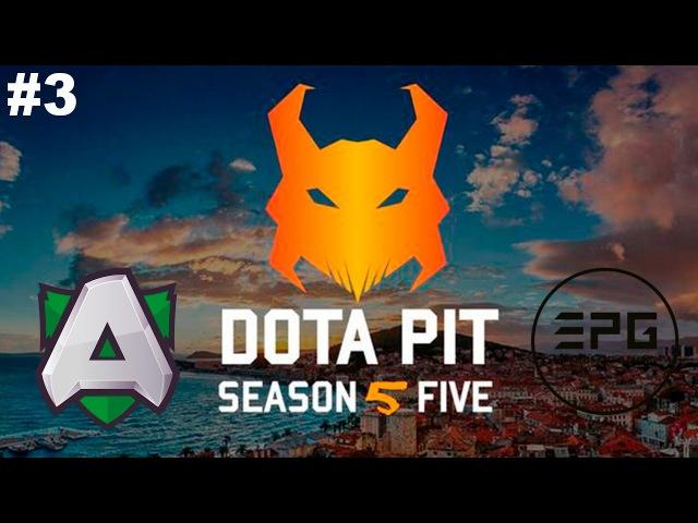New Patch 7 00 The Alliance vs Elements 3 DotaPit Season 5 Dota 2