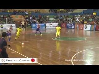 Pasión Futsal TV 2015: Paraguay 3 - Colombia 1 (Semifinales - Copa América Ecuador 2015)