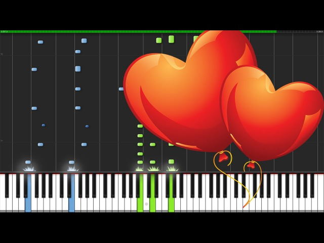 Lovesong The Cure Piano Tutorial Synthesia David Kaylor