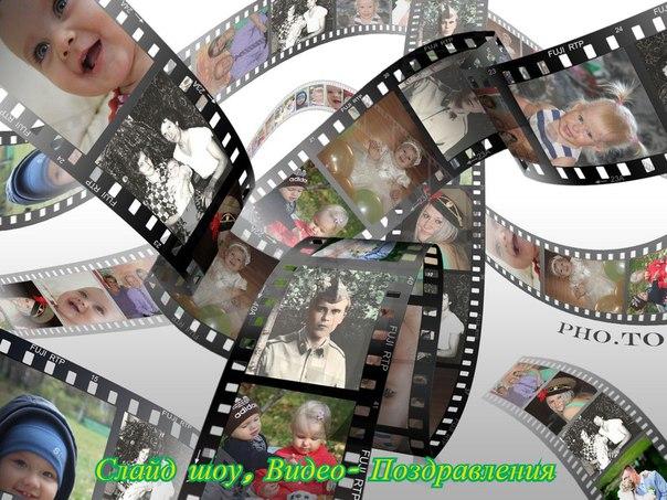 Картинка именем, ролики для поздравления из фото