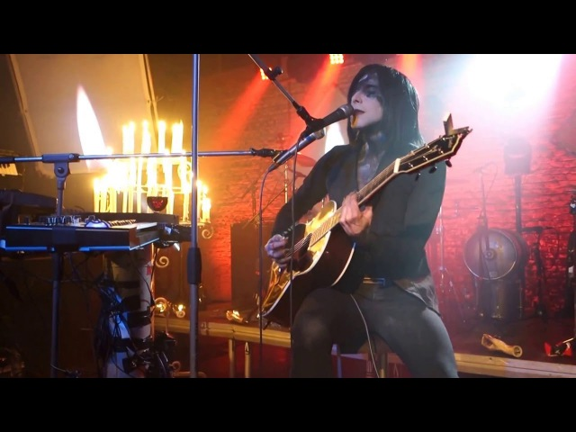 IAMX Say Hello Melancholia Acoustic live in Maastricht 29 03 2016