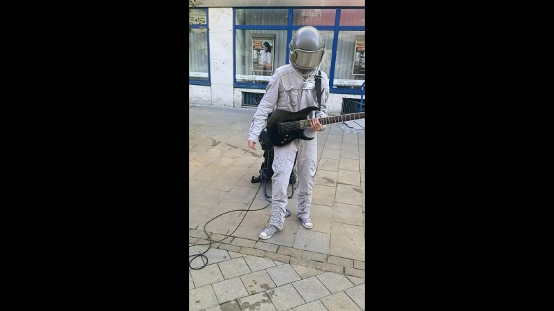 Spaceman in Nitra Slovakia
