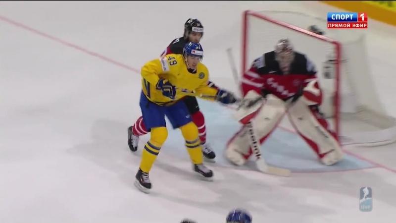 Чемпионат мира 2015 Швеция Канада 4 6