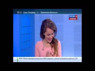 Екатерина Грачёва победила смех в прямом эфире