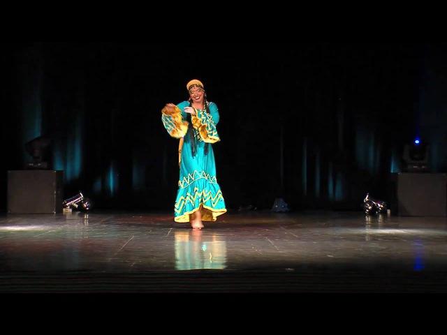 Suraiya Nubian Dance Show dedicated to Mahmoud Reda Poland Katowice 09 2010