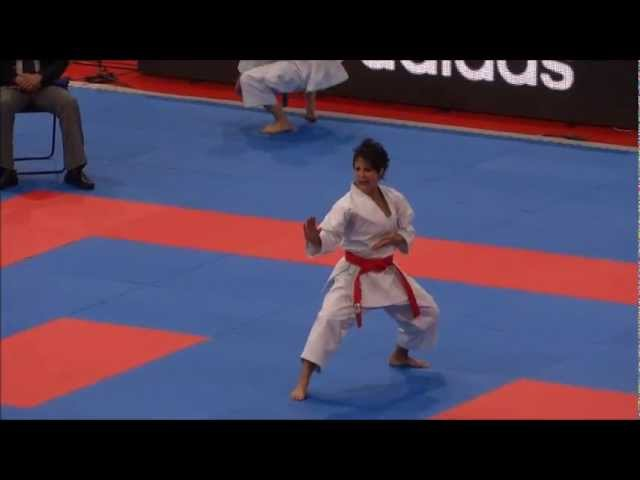 Kata EMPI by Sandy Scordo - 21st WKF World Karate Championships