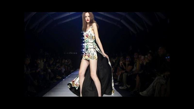 Vita C (OK'S models) - for John Richmond   Spring Summer 2016 Full Fashion Show   Exclusive