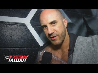 #My1 Cesaro calls out Roman Reigns: Raw Fallout, November 9, 2015