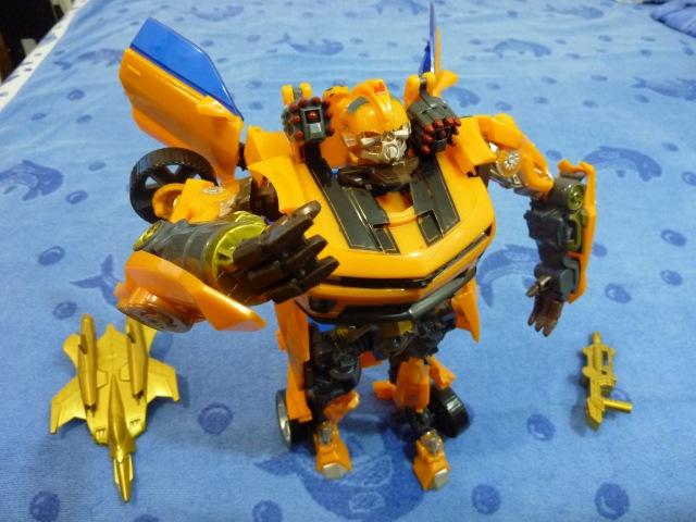 Игрушка робот Трансформер BumbleBee 11 (27cm) Transformer Unpuck Unboxing