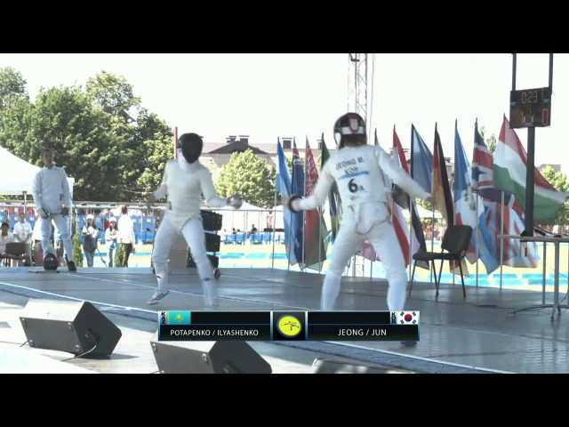 UIPM 2015 World Cup Final Team Mixed Relay Fencing Bonus Round