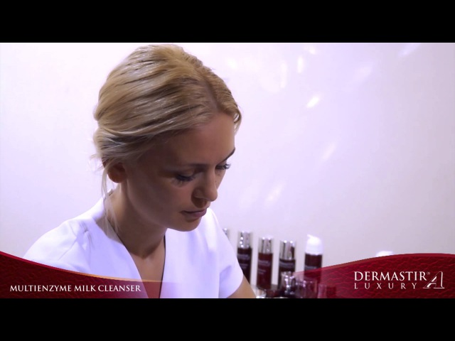 GT005TV Dermastir Multienzyme Milk Cleanser Treatment