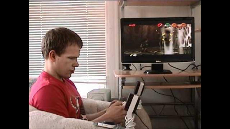 *True Blind Gaming* Let's Play Zelda OoT 01 46 Inside the Deku Tree
