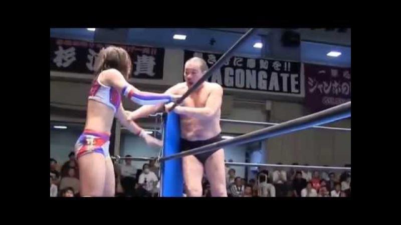 Kana Asuka Minoru Suzuki vs Syuri Yoshiaki Fujiwara