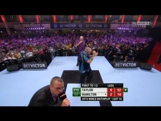 Phil Taylor vs Andy Hamilton (World Matchplay 2015 / Round 2)