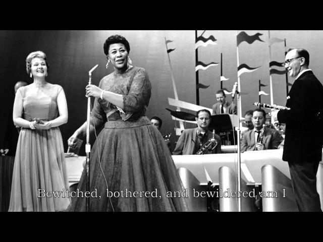 Ella Fitzgerald Bewitched Bothered and Bewildered Lyrics смотреть онлайн без регистрации