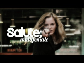 multifemale | salute