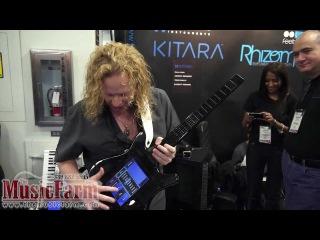 Winter NAMM '12 - Misa Digital Kitara Digital Guitar