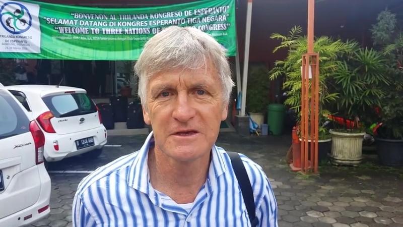 Prezidanto de Novzelanda Esperanto Asocio Bradley McDonald