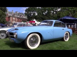 Luxuary rare cars at the St James's Concours of Elegance (London, 2013)