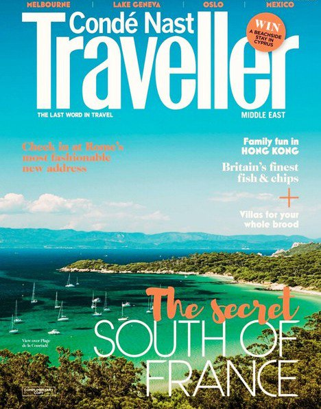 Conde Nast Traveller Middle East - April 2016 vk.com