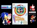 Tiny Toon Adventures 2 Trouble in Wackyland 1992 Dendy Walkthrough