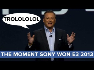 The Moment Sony Won E3 2013 - Sony Conference - Eurogamer