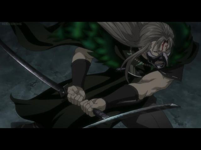 Gintama Gintoki Kagura Sougo Nobume vs Utsuro English Subbed