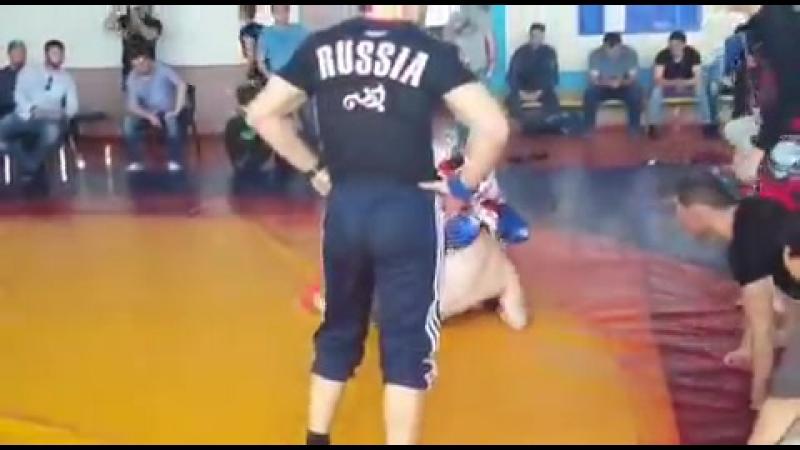 Тоторкулов Рустам обадатель кубка СКФО по панкратиону