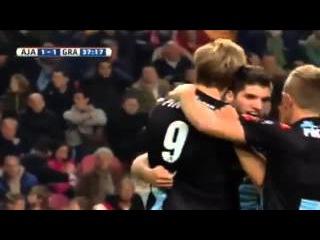 Аякс 2:1 Де Графсхап | Эредивизи 2015/16 | 17-й тур | Обзор матча