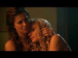 Люси Лоулесс , Вива Бьянка - Спартак :  Месть / Lucy Lawless , Viva Bianca - Spartacus : Vengeance ( 2012 )