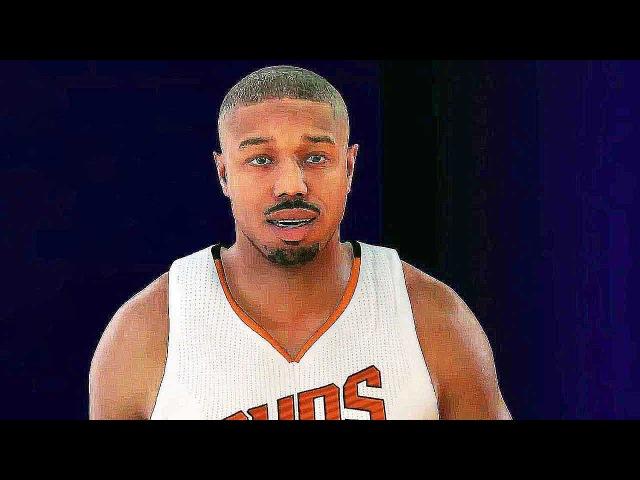 NBA 2K17 - MyCAREER Trailer (with Michael B. Jordan PS4 XboxOne PS3 Xbox360 PC )