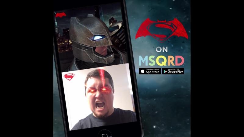 Хочеш спробувати себе у образі Бетмена чи Супермена Тоді завантажуй на свій смартфон додаток MSQRD та знімай прикольні супергер